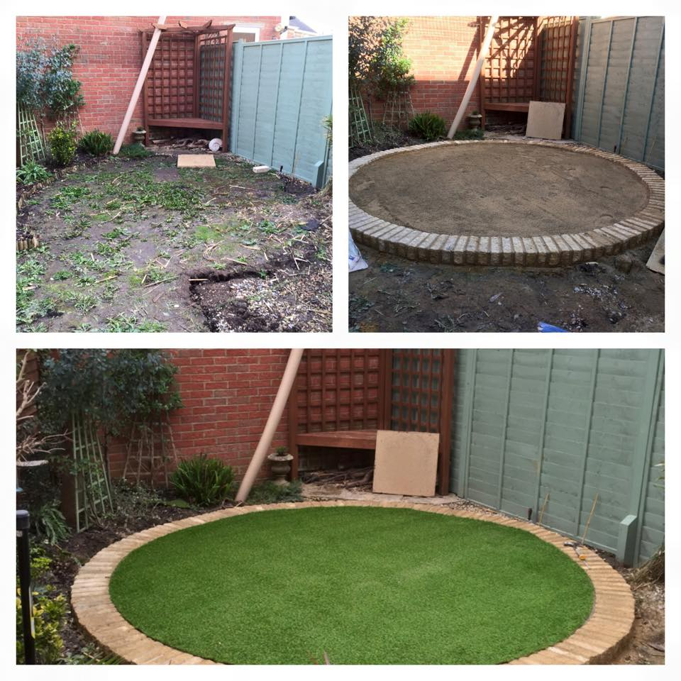 Garden Transformation Dan Davies Landscaping Wiltshire