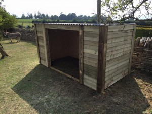 We can build all types of field shelters