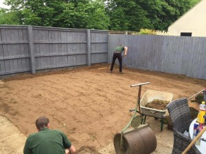 Its all in the preparation at Dan Davies Landscaping